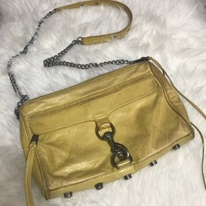 Rebecca Minkoff Yellow Crossbody M.A.C. Bag